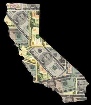 Bigstockphoto_Map_Of_California_With_Dollars_2695826