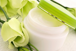 Bigstock-Cream-with-Flower-29404679